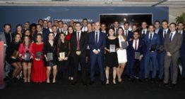 Cabañero, Mateu, Cebrián y Yuste recibieron su escarapela FIFA como árbitros internacionales
