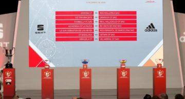 Estos son los cruces para los cinco equipos de la Comunitat en la segunda ronda de la Copa del Rey