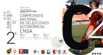 Elda será la sede de la segunda fase del Campeonato de España de fútbol Valenta sub15 y sub17