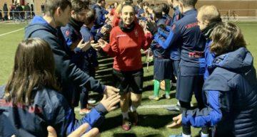 El Malilla Femenino y su entrenamiento de hermandad con el Levante EDI