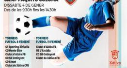 La localidad de Xàtiva preparada para disfrutar de su primer torneo de fútbol femenino