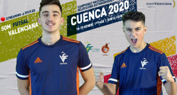 STREAMING: Selecció Valenciana futsal masculina vs Aragón y Castilla La Mancha