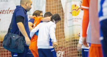 VIDEO: Nacho Gómez se 'jugó' el tobillo para ayudar a la Selecció Sub-19 de futsal