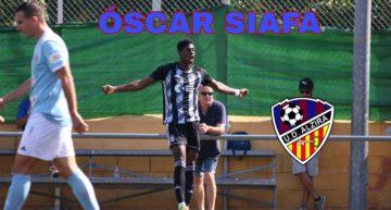 La UD Alzira oficializa el fichaje de Óscar Siafa para su primer equipo