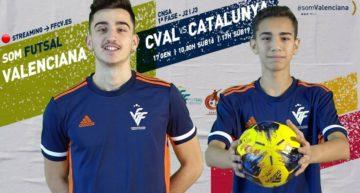 STREAMING: Selecció Valenciana futsal masculina vs Cataluña (Sub-16 y Sub-19)