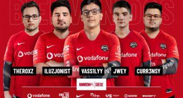 Nuevas caras en el 'roster' de Rainbow Six: Siege de Vodafone Giants