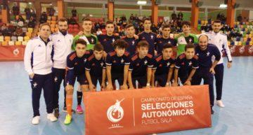 GALERÍA: Dura derrota de la Selecció FFCV Futsal Sub-16 ante Castilla La Mancha para decir adiós al torneo (7-2)