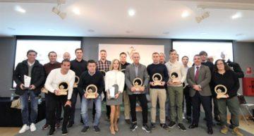 GALERÍA: Lista de premiados en el XLII Día del Entrenador FFCV
