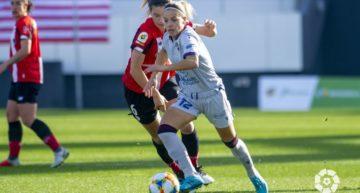 Un gol sobre la bocina de Andrea Sierra priva de la victoria al Levante en Lezama (1-1)