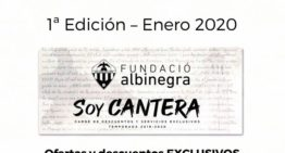 La Fundació Albinegra presenta el programa 'Soy Cantera'