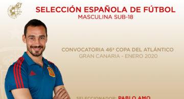 Previa: Convocatoria y rivales de España Sub-18 en la 46a edición de la Copa del Atlántico