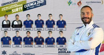 Patxi Aguilar hace oficial la lista para el CNSA Fútbol Sala Sub-19
