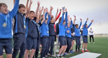 Horarios y grupos confirmados para la Jornada 5 de la X Copa Federación Benjamín