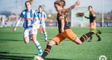 Un solitario gol de Nahikari provoca una nueva derrota del Valencia (1-0)