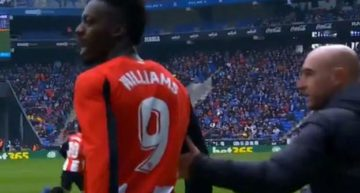 La AFE, el fútbol y la sociedad española se vuelcan con Iñaki Williams tras sufrir un episodio racista en Cornellà