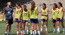 Asun, Aixa y Eva, son convocadas para entrenar con España sub19