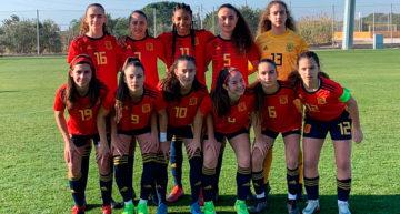 Fiamma, Salma y Lucía Palomares tuvieron minutos en la victoria de España Sub-17 ante Alemania (3-1)