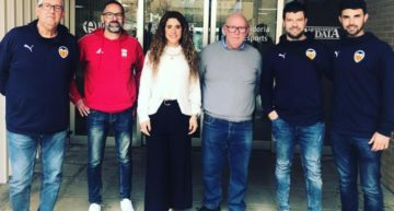 El Valencia CF se reunió con la concejala aldaiera Marta Romeu para explicar su convenio con la UD Aldaia