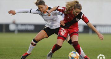 Un Valencia Femenino sin fe no pasa del empate ante el Rayo Vallecano (0-0)