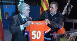 GALERÍA: El Atlético Nazaret celebra su 50 Aniversario en plena forma