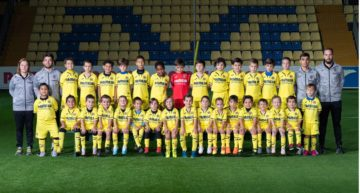 99 niños 'groguets' forman parte de su Curso de Psicomotricidad, el equipo más joven de la cantera del Villarreal