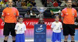 Los valencianos Delgado y Rabadán arbitrarán en la Copa del Rey de Futsal 2020