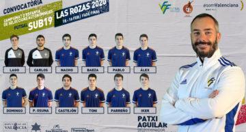 Definitiva lista de 12 convocados para la Fase Final del Campeonato de España Futsal Sub-19