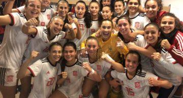 Asun, Berta y Aixa siguen contando para Pedro López para los amistosos de España Sub-20