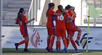 La selección valenciana sub15 se impone a Galicia, pero se queda fuera del Campeonato de España (2-0)
