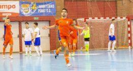 Entrenamiento de la Selecció FFCV masculina Sub-19 de futsal el lunes 3 en Alfafar