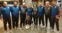 La seleccionadora FFCV Sub-19 futsal femenina Maravillas Sansanó estuvo en las Jornadas de Tecnificación RFEF
