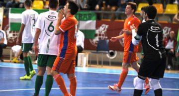 La Selecció FFCV de Futsal Sub-19 se quedó con la miel en los labios ante Andalucía (1-3)