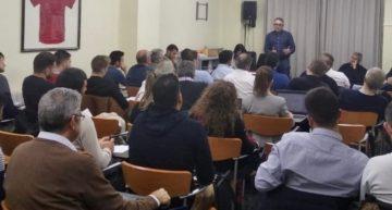 Así fue la reunión del Comité Técnico de Árbitros FFCV con sus delegados para el tramo final de la 2019-2020