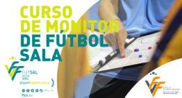 Abiertas las inscripciones para un nuevo Curso de monitor de Fútbol Sala de la FFCV
