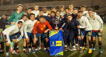 Yeremy y Escobar anotaron en el triunfo que dio a España Sub-18 la Copa del Atlántico (6-0)