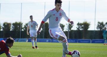 España Sub-15 brilla en el Pinatar Arena ante la República Checa (0-6)