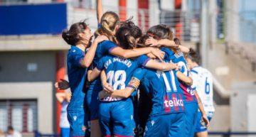 El Levante Femenino ya es segundo tras imponerse al UDG Tenerife con claridad (6-2)