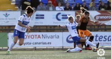 El Valencia cae ante el UDG Tenerife y no se aleja de la zona de descenso (2-0)