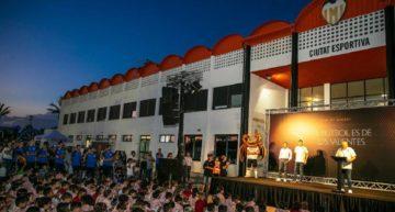 El Valencia CF 'blinda' su Academia durante quince días y manda a los internos a sus casas