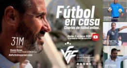 La FFCV reune el 31 de marzo en una charla online a Vicente Moreno, José Bargues, Miguel Ángel Tena y Adrián Ferrandis