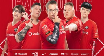 Vodafone Giants finalizan primeros en temporada regular de la Superliga Orange League of Legends