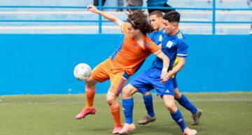 Fabio Blanco tiró del carro en la Selecció FFCV Sub-16 para tumbar a la Canarias de Valerón (2-0)