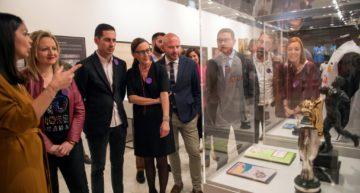 Abierta la exposición 'Un Sentiment Etern' del Valencia CF en la Diputación de València