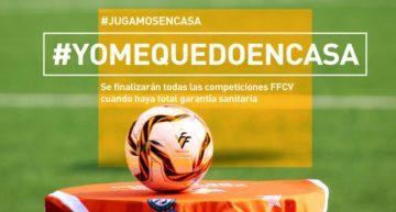 Oficial: todas las competiciones FFCV en marcha se jugarán hasta el final cuando haya garantía sanitaria total