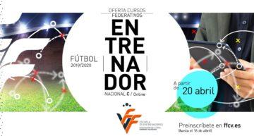 El curso online de Entrenador de fútbol Nacional C continua abierto