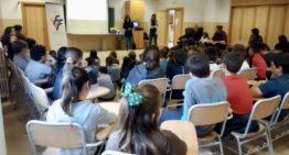 Más de 300 niñas y niños aprendieron sobre futfem y Valenta en el CEIP El Palmeral (Benicàssim)