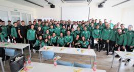 El arbitraje femenino fue la estrella en el seminario FFCV celebrado en Bétera