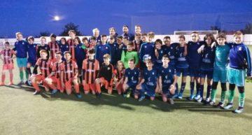 Triunfo de la Selecció FFCV Sub-12 en su amistoso ante Patacona para coger moral de cara al CNSA