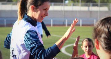 Ejercicios FFCV de 'realidad virtual' para entrenar fútbol desde casa