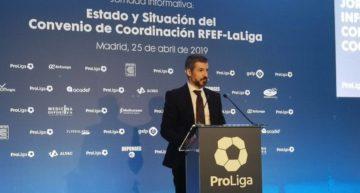 ProLiga traslada a Rubiales su preocupación por la crisis de ingresos en el fútbol modesto